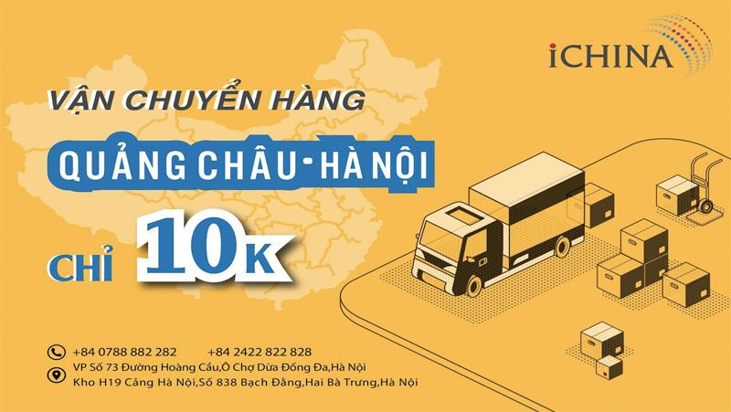 Dịch vụ order hộ hàng Quảng Châu của iChina Company siêu tiết kiệm